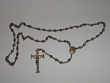 VINTAGE STERLING SILVER BEADS ROSARY 1927