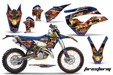 AMR Racing Husaberg TE 125-300 Number Plate Graphic Kit Bike Decals 11-12 FIREST