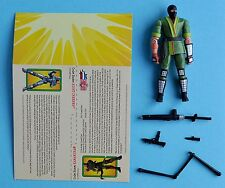 2003 Gi Joe Kamakura action figure version 1 Nrmt 100% complete + file card
