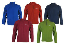 Mens Regatta Proffesional lightweight fleece half zip Jacket Top