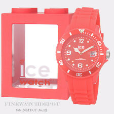 Authentic Ice Unisex Summer Neon Red Watch SS.NRD.U.S.12