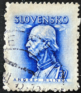 Stamp Slovakia SG97 1943 1.30Kcs Andrej Hlinka Used