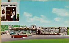 VTG Exterior View Cheese Haven Smoke Shop Port Clinton Ohio OH Postcard Old Cars