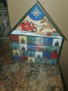 Advent calendar Drawers Santa And Reindeer
