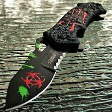 Z-HUNTER SPRING ASSISTED TACTICAL SURVIVAL ZOMBIE RED MONSTER CLAW POCKET KNIFE