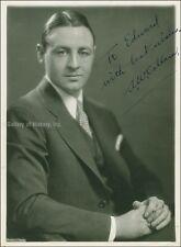ALEXANDER W. CALLAM - INSCRIBED PHOTOGRAPH SIGNED