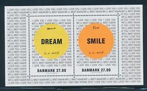 Dänemark Block Yoko Ono in ** Postfrisch