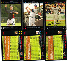 Topps  2007   Red Back Parallels    ( You pick 15  )  Finish your set