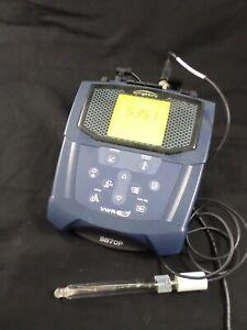 VWR SympHony SB70P Portable Bench Top pH Meter w/ Thermo Orion Electrode mV RmV