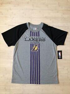 NWT NBA Youth Los Angeles Lakers Basketball Tee Shirt Large (14/16)
