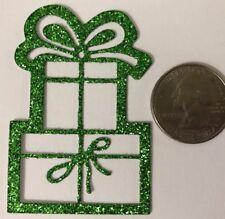 GIFT BOX  Die-Cuts(6pc)Christmas •Holiday•Happy Birthday•Present •Glitter•Friend