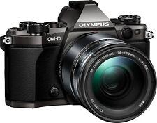 Olympus OM-D E-M5 Mark II  + 14-150 mm II B-Ware unter 1000 Auslösungen titanium