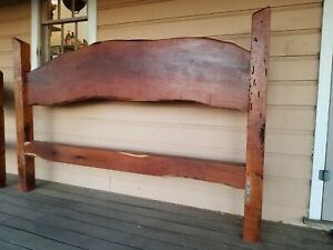 Custom Made King Sized Mesquite Bedframe Set