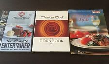 """MasterChef The Cookbook Vol.1"", ""Ultimate Entertainer"" & Easy Australian Style"