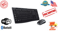 Logitech MK270 Wireless Keyboard and Mouse Combo Keyboard and Mouse Included