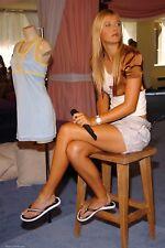 Maria Sharapova With Microphone In Hand 8x10 Photo Print