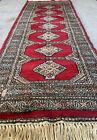 5.5x2FT Handmade Pakistanian Wool Runner Rug.