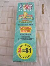 MIGHTY MORPHIN POWER RANGERS NEW FULL BOX Series 2 Sealed 5 Cards Each Pack~*~*
