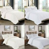 New Embroidered Quilt Duvet Cover Set Double King Size Cotton Pillowcase Bed Set