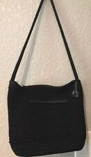 The Sak Black Knit Shoulder Purse