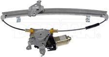 New Pair LH-RH Front Power Window Regulator and Motor Dorman 751-210,751-211