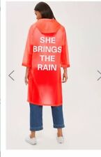 TOPSHOP Mac Rain Coat Jacket  Poncho size: UK 14 EUR 42 BNWT!