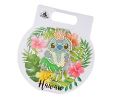 Disney Store Japan Pin 2018 Stitch Day Stitch Hula