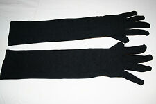 Black Gloves Arm Hand Cover Hijab Abaya Hejab Muslim Veil Driving Sun UV Protect