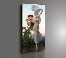 🌼 William-Adolphe Bouguereau L'Aurora Stampa su TELA Canvas Vernice Pennellate