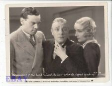 Norman Foster Skeets Gallagher Carole Lombard VINTAGE Photo It Pays To Advertise