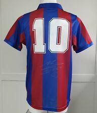 More details for diego maradona signed / autographed fc barcelona 1982 shirt jersey - argentina