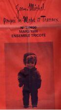 ▬► PATRON Poupée modèle Couture Tricot - Jean Michel  N°184928 1986