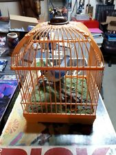 Zephyr Knight Bird In Cage No. HL508 Rare