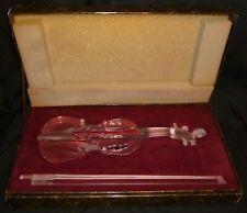 Royales De Champagne Crystal Violin