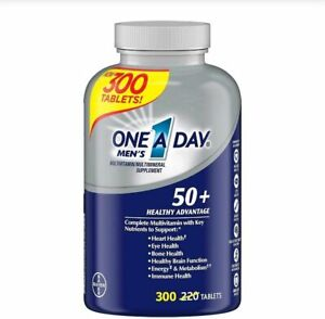 One A Day 50+ Healthy Advantage Multivitamin Capsule - 300 Count