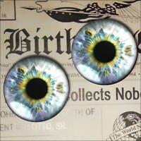 Fairy Eyes Realistic Glass Taxidermy Fantasy Eyeball 16mm Set