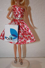 Barbie Collector Belk Barbie 125th Anniversary Dress Fashion Outfit ONLY NO DOLL