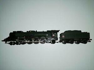 Locomotive à vapeur type 241 P 7 et son tender 36 P 20 Jouef HO