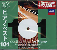 V.A-CLASSIC MUSIC YOUR 101 BEST TUNES FOR PIANO-JAPAN 6 CD G35