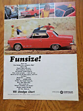 1965 Dodge Dart Coupe Ad    Fun Size