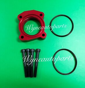 RED Throttle Body Spacer for 05-12 SCION tC 2.4L,08-11 xB 2.4L, 03-09 CAMRY 2.4L