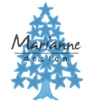 Marianne Design Creatable Cutting and Embossing Die Tiny's Christmas Tree Stars