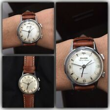 Bulova wrist alarm svegliarino anni '60 orologio vintage watch