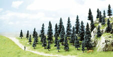 Busch 6492 NEW OO/HO 35 PACK BUDGET FIR TREES WITH BASE