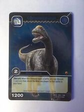 Upper Deck Dinosaur King 022/160 Camarasaurus Rare 2008 Trading Card Shiny