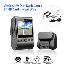 VIOFO A129 Duo Dual Lens Sony Imx291 WiFi GPS Car DVR Camera 32gb Hardwire Kit