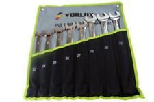 VORLUX 8PC JUMBO METRIC COMBINATION SPANNER WRENCH SET B1914