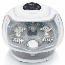 Foot Spa/Bath Soaker with Heat Bubbles Vibration XKAM-SPA16 GREY