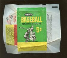 1964 Topps Baseball Card 5 Cent Wax Wrapper