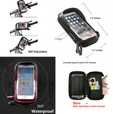 Motorcycle Mount Phone Wallet Transparent Support Touch Screen Operate Non-Glare